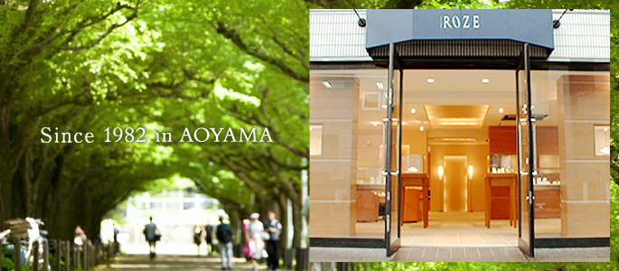 Since 1982 in AOYAMA