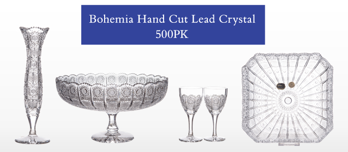 Bohemia Hand Cut Lead Crystal